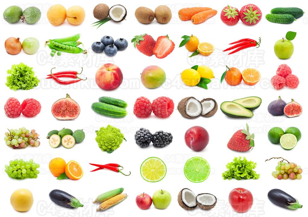 默认渲染器水果蔬菜模型包
