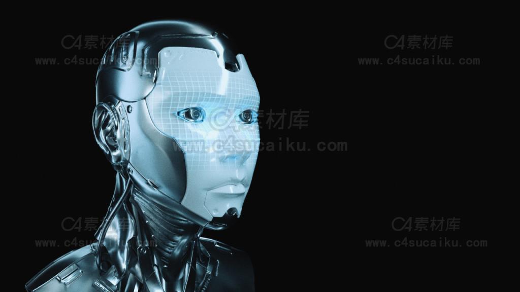 octane科幻机器人工程