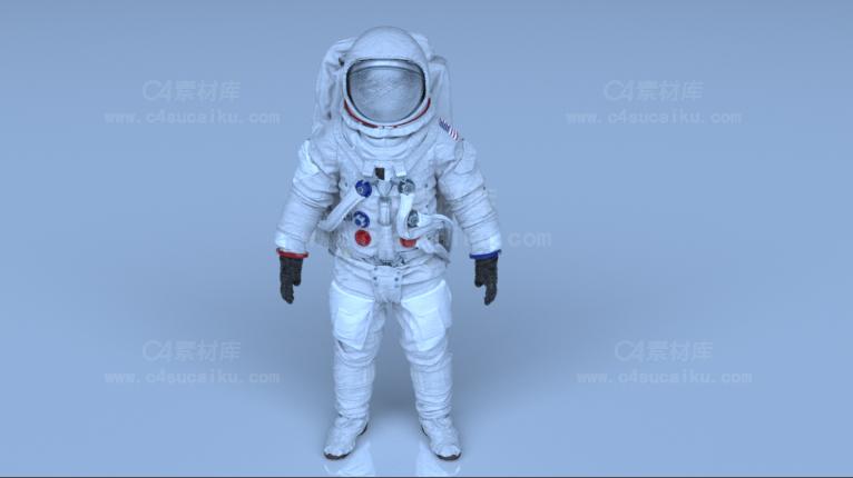 Octane渲染器宇航员模型
