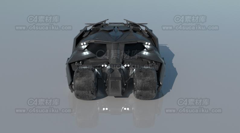 蝙蝠战车模型