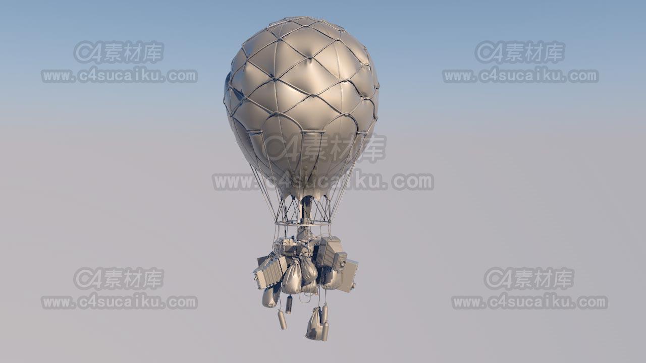 赛博朋克蒸汽气球