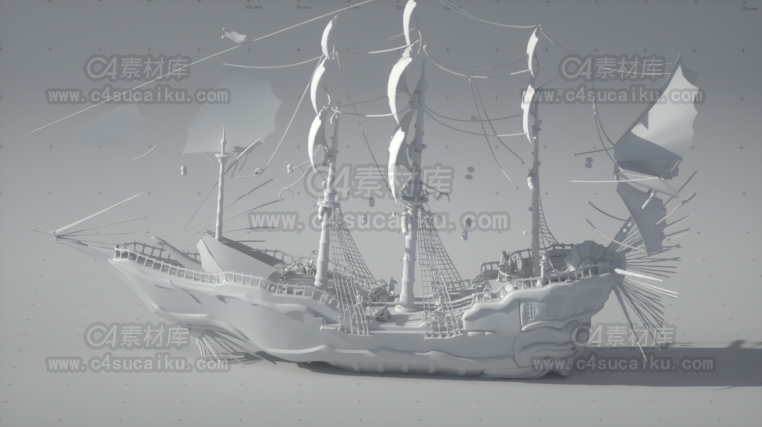 轮船帆船模型