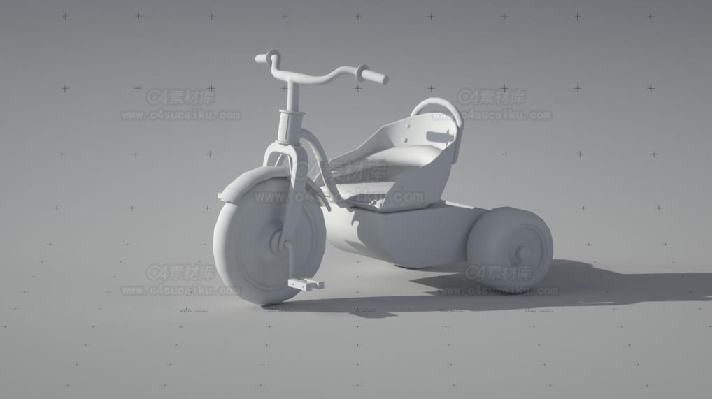 儿童单车模型