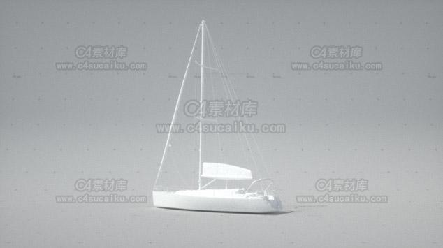 轮船帆船模型-2