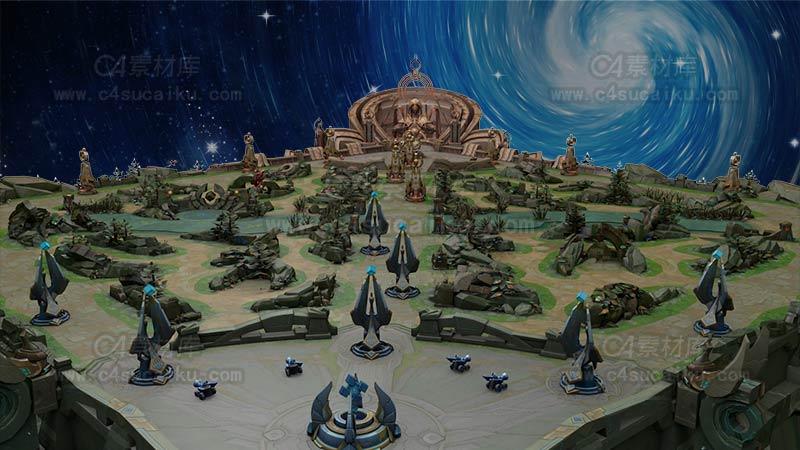 手机版王者荣耀地图场景工程