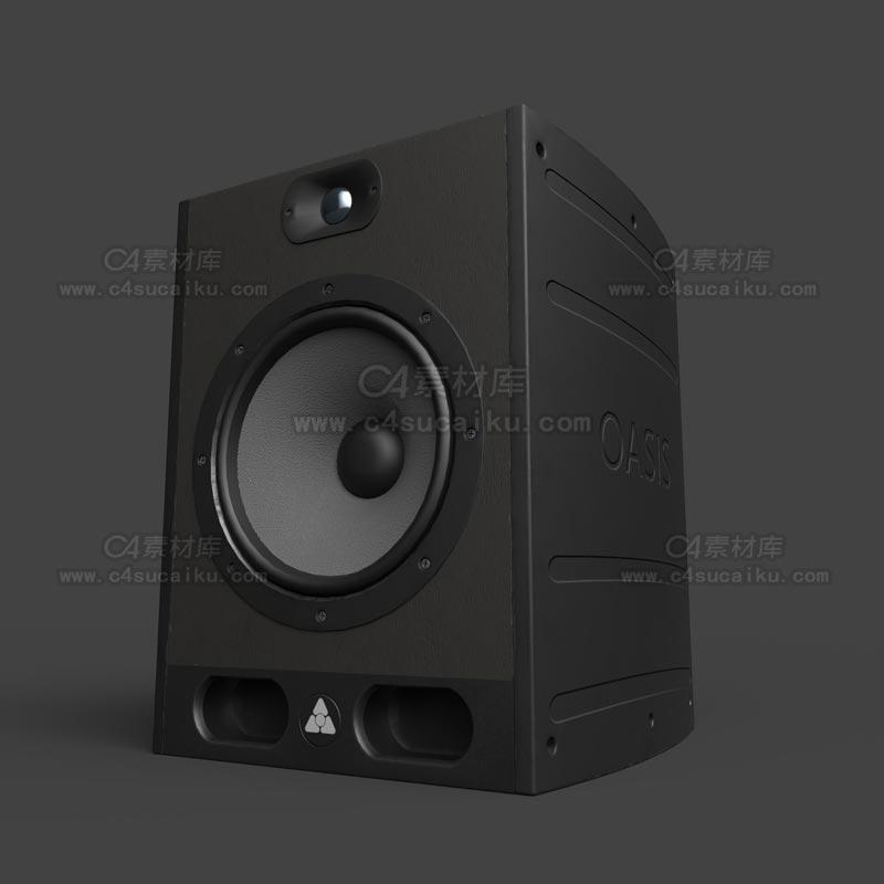 C4素材库-音响C4D模型-03