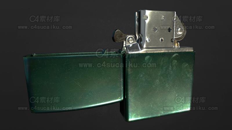 C4素材库-打火机C4D模型