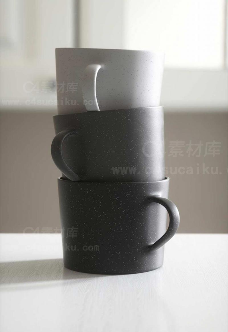 C4素材网首发资源-Octane Texture Pack 5电商清新风OC材质球预设库