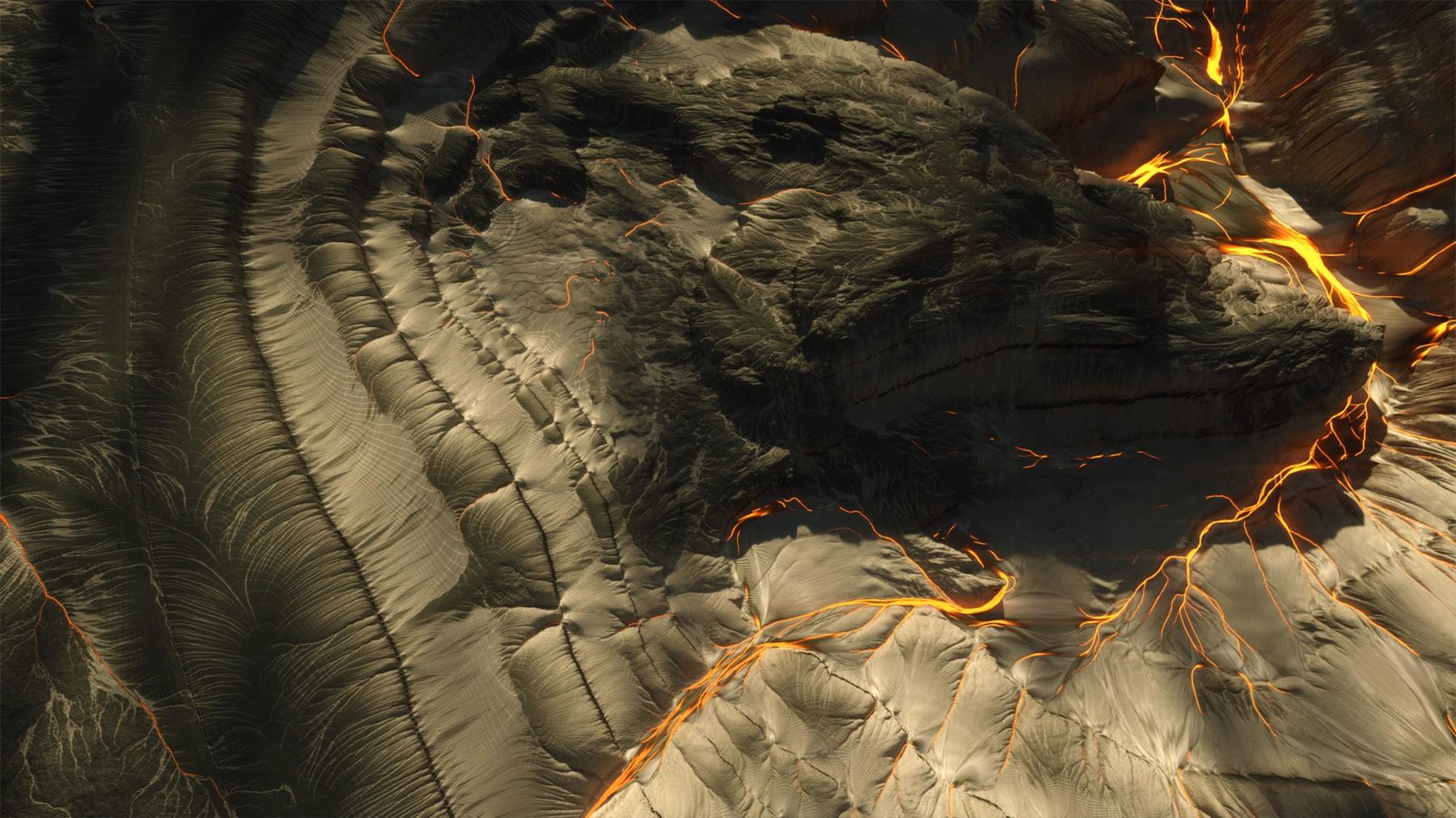 C4素材网-C4D工程-28组8K高精度科幻地形山脉贴图【附赠工程及教程】