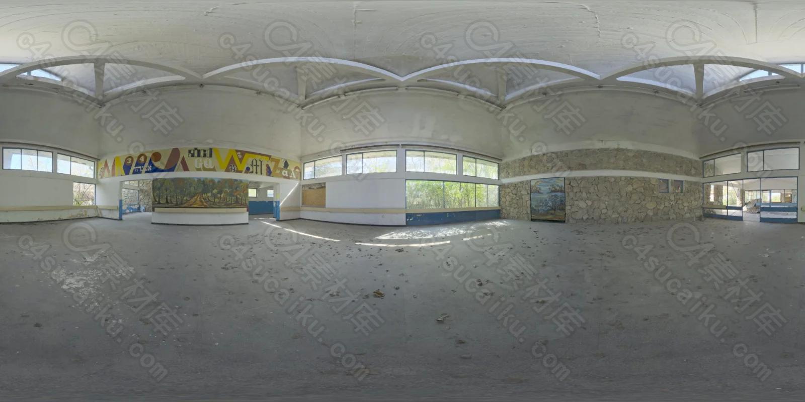 Abandoned Hall 01