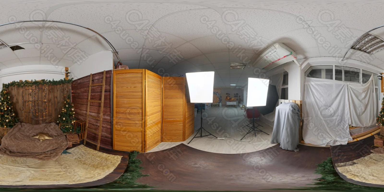 Christmas Photo Studio 02