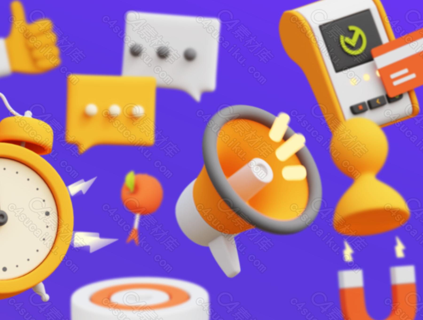 群资源分享【第十二期】电商3D动画含ae源文件可修改